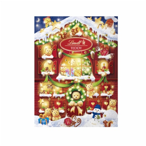 Lindt Advent Calendar Assorted Chocolates Perspective: front