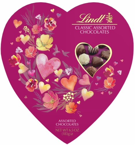 Lindt Classic Assorted Chocolates Perspective: front