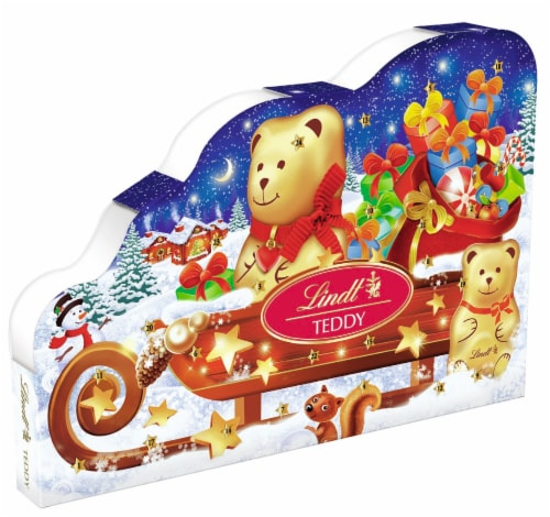 Lindt Holiday Advent Calendar Candy Perspective: front
