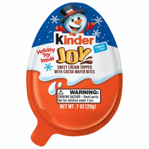 Kinder Joy Christmas Treat and Toy Perspective: front
