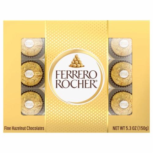Ferrero Rocher Fine Hazelnut Chocolates Perspective: front