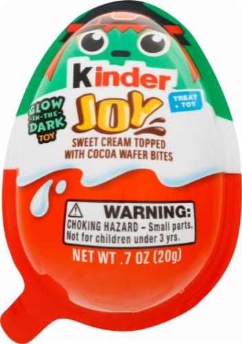 Kinder Joy Halloween Treat and Toy Candy Perspective: front
