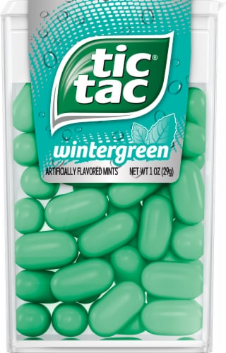 Tic Tac Wintergreen Mints Perspective: front