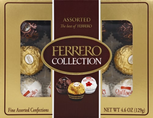Ferrero Collection Fine Assorted Chocolate Confections Perspective: front