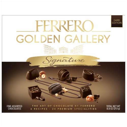 Ferrero Golden Gallery Signature Assorted Fine Chocolates Perspective: front