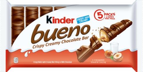 Kinder Bueno Crispy Creamy Chocolate Bar Perspective: front