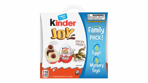 Kinder Joy Treat + Toy Candy Multipack Perspective: front