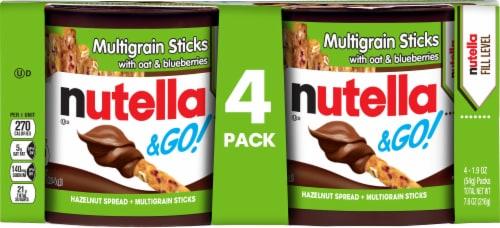 Nutella & Go! Hazelnut Spread & Multigrain Sticks Perspective: front