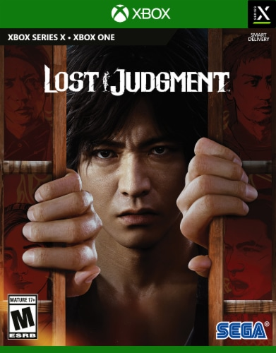 Lost Judgment (XBox) Perspective: front