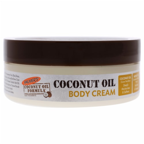 Coconut Oil Body Cream by Palmers for Unisex - 4.4 oz Body Cream Perspective: front