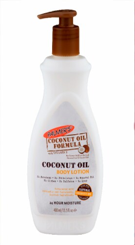 Palmer's Coconut Oil Body Lotion Perspective: front