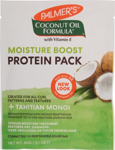 Palmer's Coconut Oil Formula Deep Conditioning Protein Pack Perspective: front