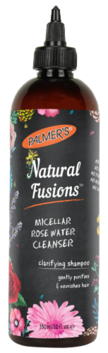 Palmer's Natural Fusions Micellar Rose Water Cleanser Perspective: front