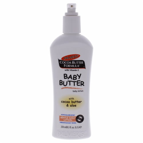 Palmers Cocoa Butter Baby Butter Lotion Body Lotion 8.5 oz Perspective: front