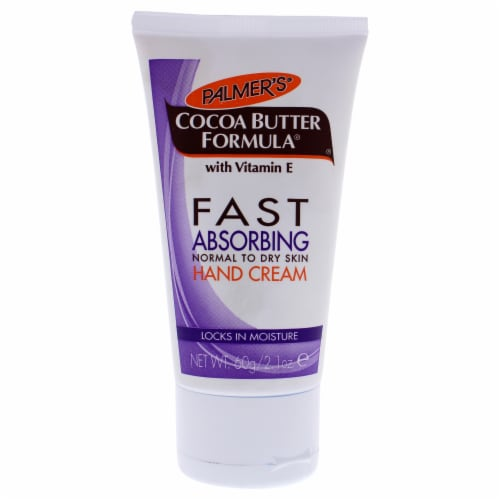 Palmers Cocoa Butter Fast Absorbing Hand Cream 2.1 oz Perspective: front