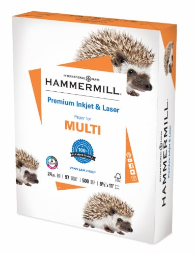 Hammermill Premium Inkjet and Laser Paper Perspective: front