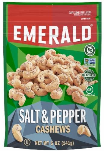 Emerald Salt & Pepper Cashews Perspective: front