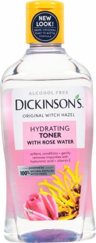 Dickinson Enhanced with Witch Hazel Alcohol Free Hydrating Toner with Rosewater Perspective: front