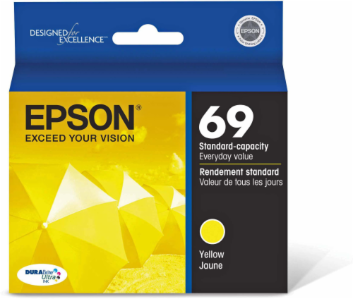 Epson DuraBrite Ultra Ink T069420 Ink Cartridge - Yellow Perspective: front