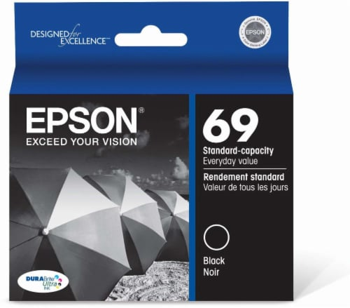 Epson DURABrite Ultra Ink T069120 Ink Cartridge - Black Perspective: front