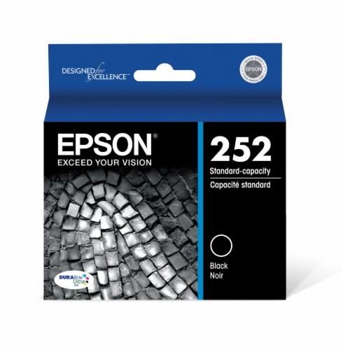 Epson DURABrite® Ultra 252 Ink Cartridge - Black Perspective: front