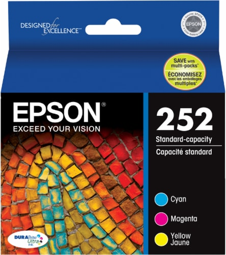 Epson DURABrite® Ultra 252 Ink Cartridges - Multi-Color Perspective: front