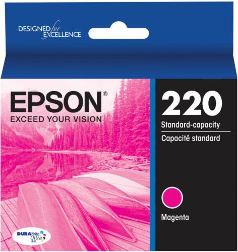 Epson DURABrite® Ultra 220 Ink Cartridge - Magenta Perspective: front