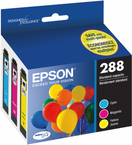 Epson T288520-S DURABrite® Ultra Ink Cartridge Perspective: front