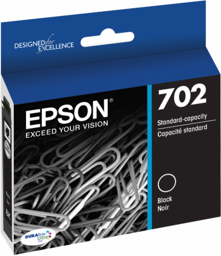 Epson T702120-S DURABrite® Ultra Ink Cartridge Perspective: front