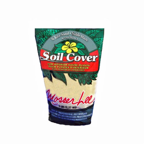 Mosser Lee Decorative Sand Soil Cover - White Perspective: front