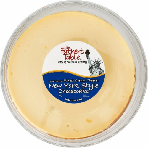 Father's Table New York Cheesecake Perspective: front