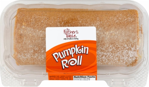 The Father's Table Pumpkin Roll Perspective: front