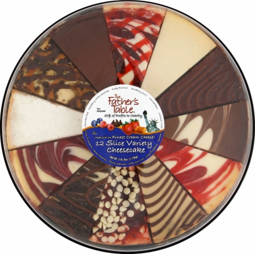 Father's Table Cheesecake Slices Variety Pack Perspective: front