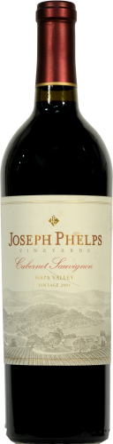 Joseph Phelps Vineyards Cabernet Sauvignon Perspective: front