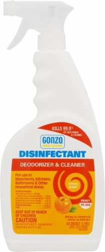 Gonzo® Citrus Disinfectant Spray Perspective: front