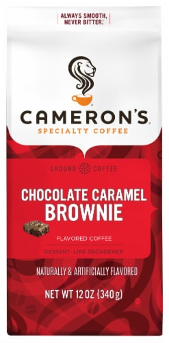 Cameron's Chocolate Caramel Brownie Ground Coffee Perspective: front