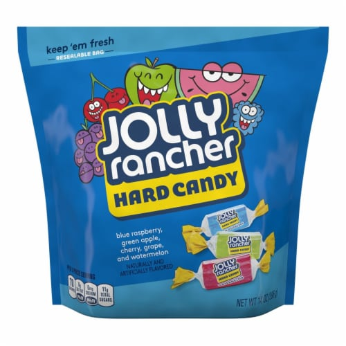 Jolly Rancher Hard Candy Perspective: front