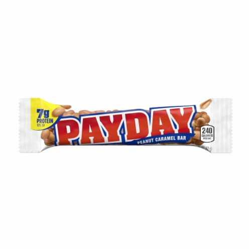 Payday Peanut Caramel Candy Bar Perspective: front