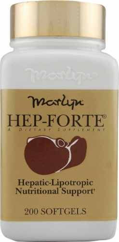 Naturally Vitamins  Marlyn® Hep-Forte® Perspective: front