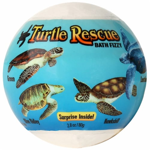 Good Clean Fun Turtle Rescue Bath Fizzy Perspective: front