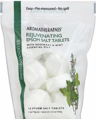 Smith & Vandiver Aromatherapaes Rejuvenating Epsom Salt Tablets Perspective: front
