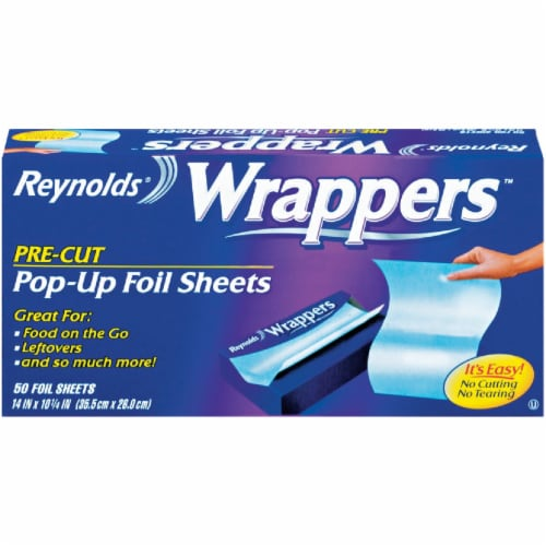 Reynolds Wrap Popup Foil Sheets Perspective: front
