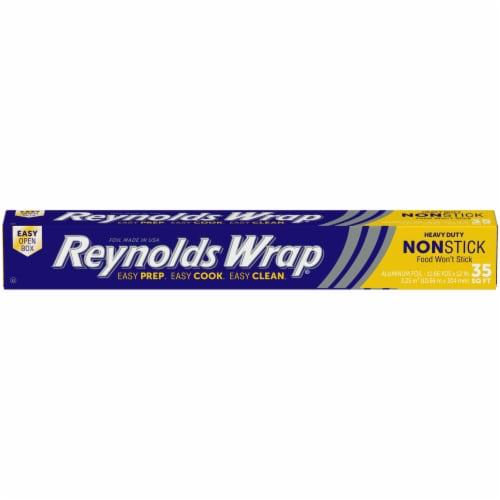 Reynolds Wrap Heavy Duty Non-Stick Aluminum Foil Perspective: front