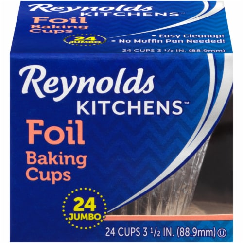 Reynolds Wrap Jumbo Foil Baking Cups Perspective: front