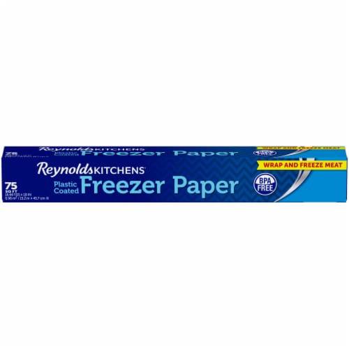 Reynolds Wrap Kitchens Plastic Coated Freezer Paper Perspective: front