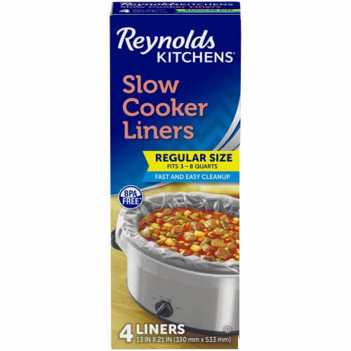 Reynolds Kitchens Slow Cooker Liners Perspective: front