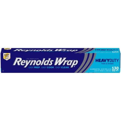 Reynolds Wrap Heavy Duty Aluminum Foil Perspective: front