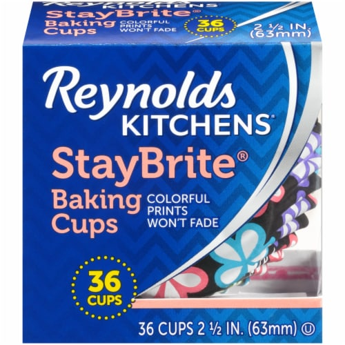 Reynolds StayBrite Whimsical Baking Cups Perspective: front
