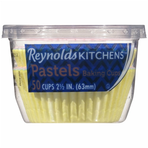 Reynolds Pastels Paper Baking Cups Perspective: front