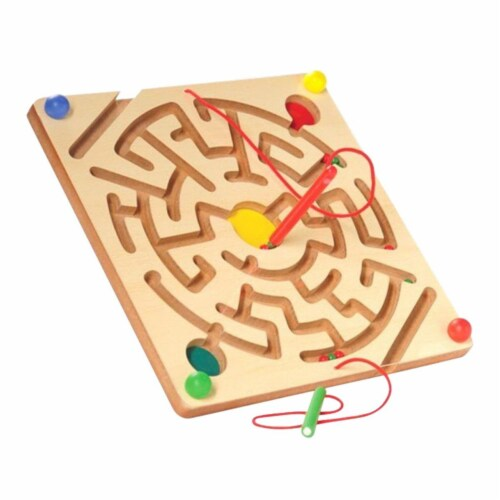 Marvel Education 2025537 Magnetic Maze Board Perspective: front
